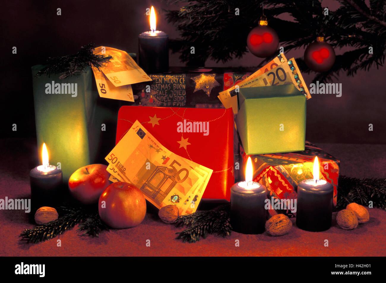 Weihnachten, Vertrieb Geschenke, Weihnachtsbaum, Geschenke, Pakete ...