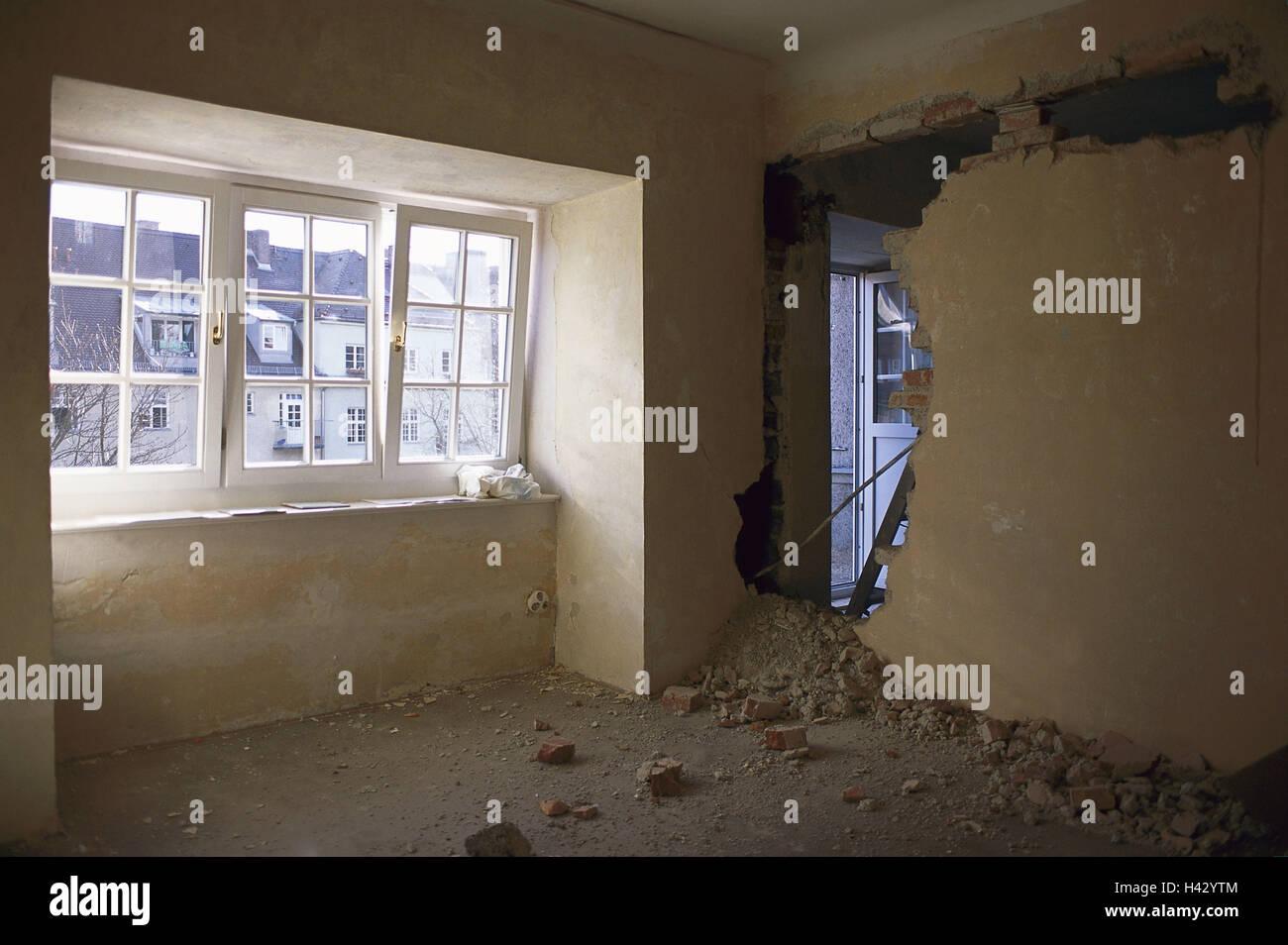 Wohnung In Ein Altes Gebäude, Defensive Wanddurchbruch, Wohnung, Alte, Alte  Gebäude, Wehrmauer, Durchbruch, Wiederaufbau, Flache Umbau, Planung,  Wünschen, ...