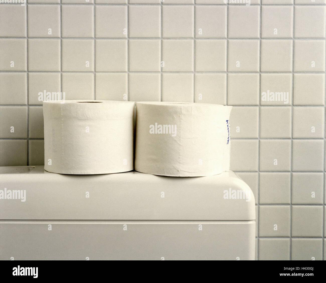 Wc Spulkasten Detail Toilettenpapier Konzeption Bad Badezimmer