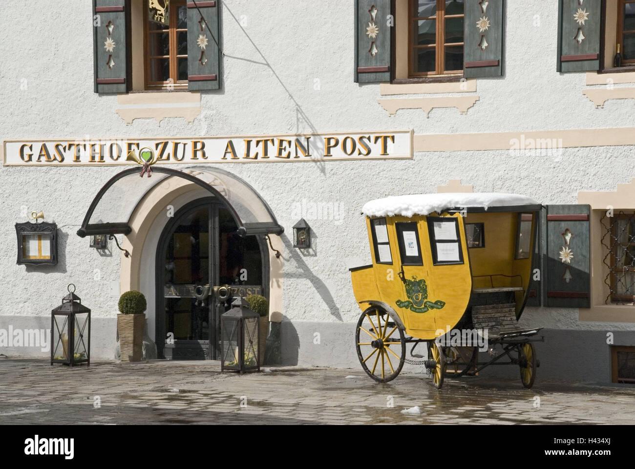 österreich Steiermark Schladming Gasthof Zur Alten Post Post