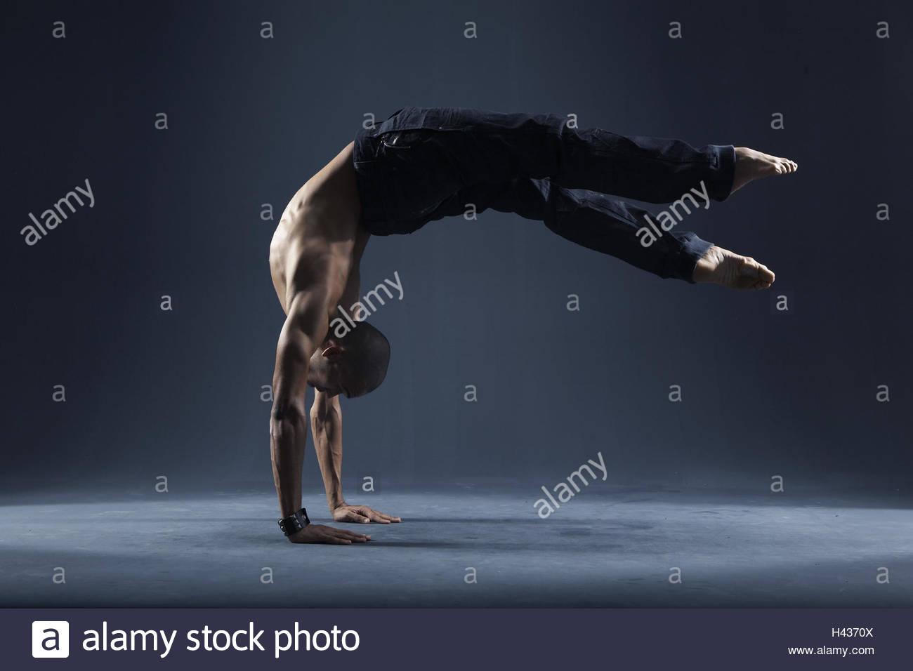 Tänzerin, Alessandro Pereira, Leistung, Stockbild