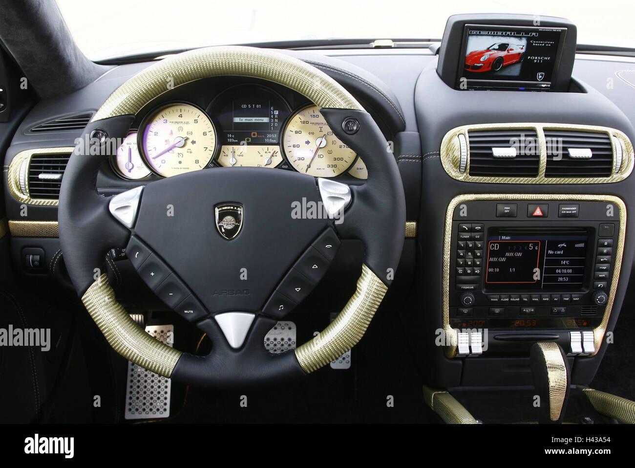 Interieur auto  Porsche Gemballa, Cockpit, Sportwagen, Auto, Porsche, Gemballa ...
