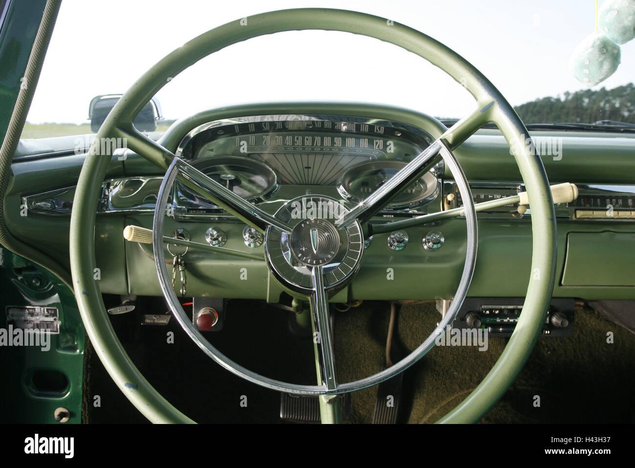 oldtimer ford edsel cockpit der 50er jahre armaturen. Black Bedroom Furniture Sets. Home Design Ideas