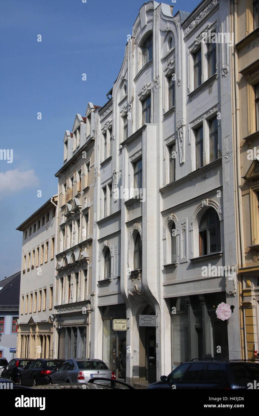 Deutschland Sachsen Freiberg Erbliche Breite Strasse