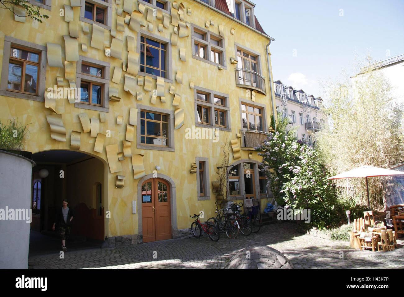 Deutschland Sachsen Dresden Kunst Hof Passage Gericht Der