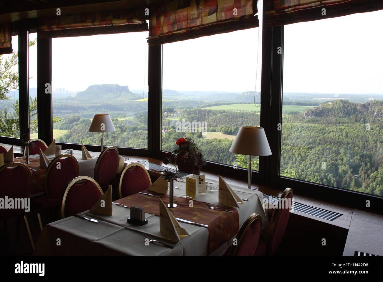 Deutschland Sachsische Schweiz Elbsandsteingebirge Bastei