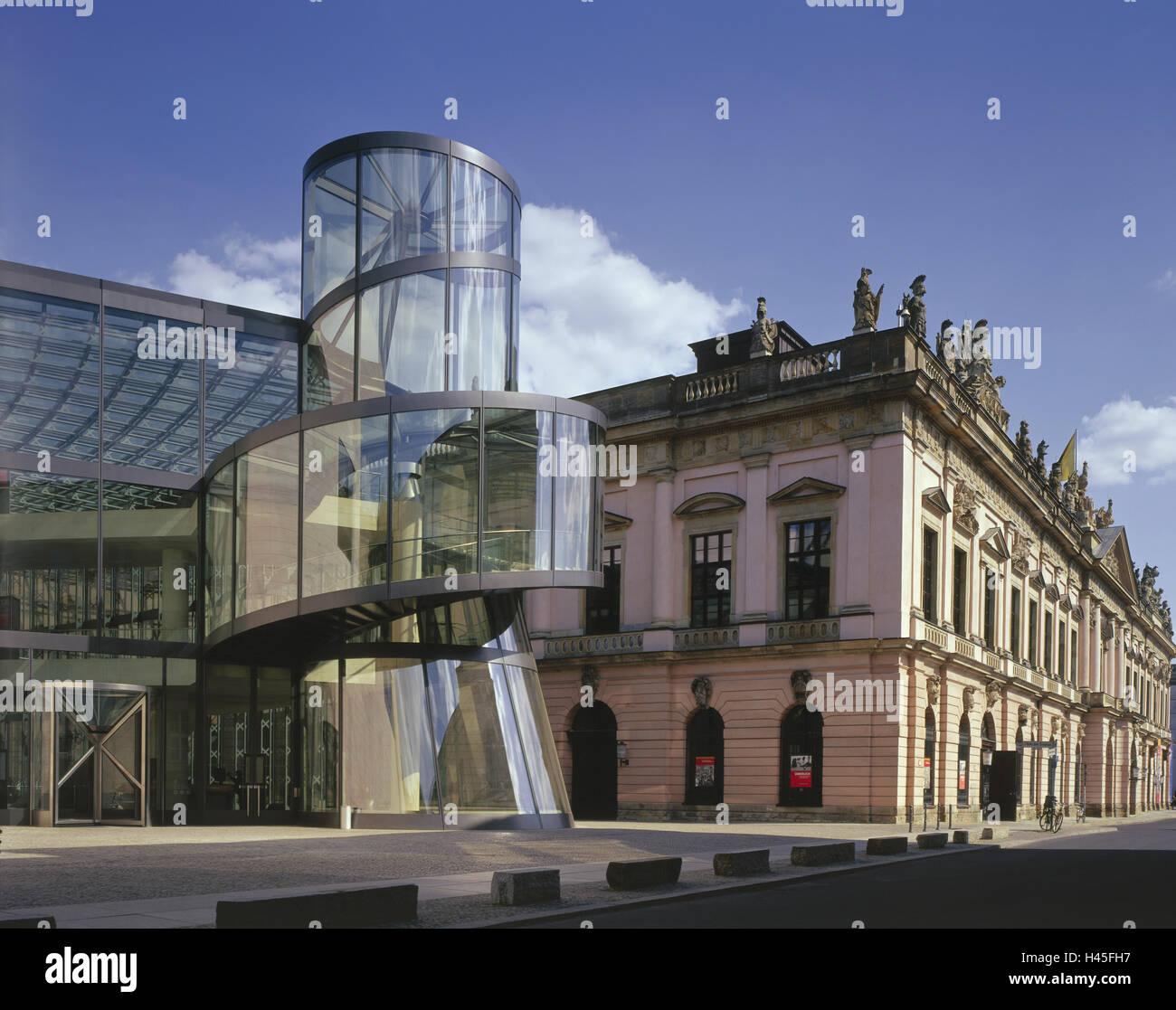Treppenhaus architektur detail  Deutschland, Berlin-Mitte, Deutsch, historisches Museum, steigend ...