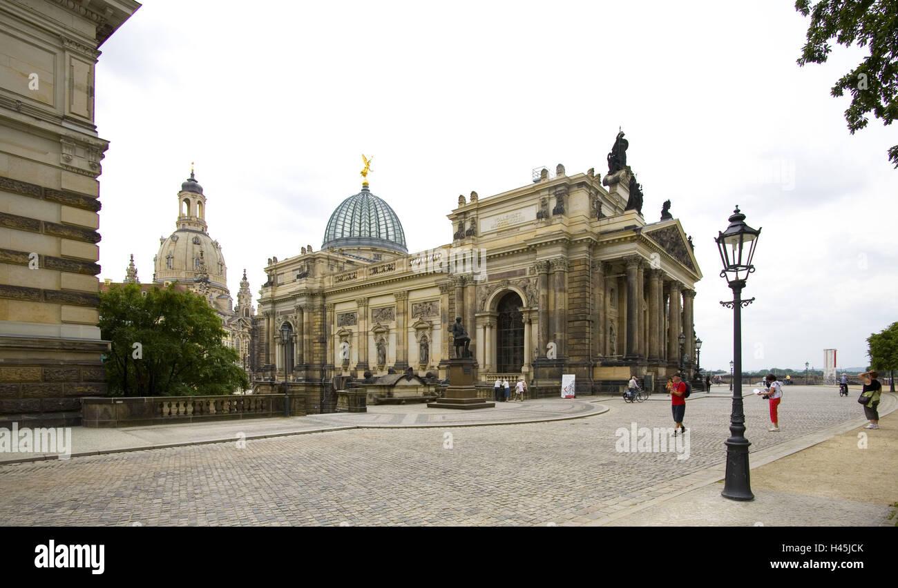 Hochschule für bildende Künste in Dresden, Stockbild