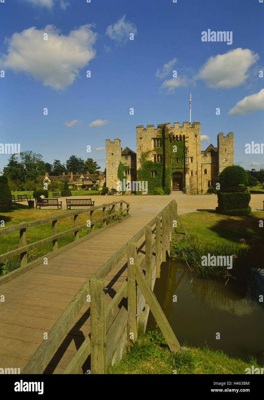 Hever Castle. Kent. England. UK Stockbild