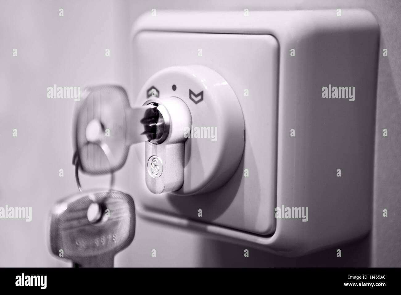 Jalousie Schalter Schlussel Stockfoto Bild 123067112 Alamy