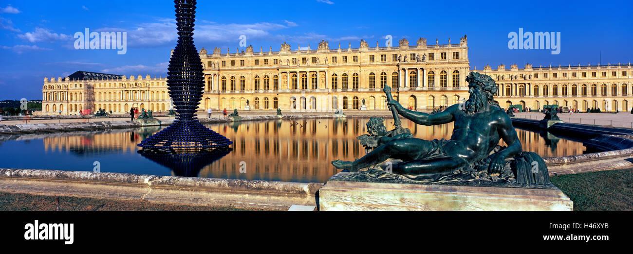 Schloss von Versailles, Versailles, Frankreich Stockbild