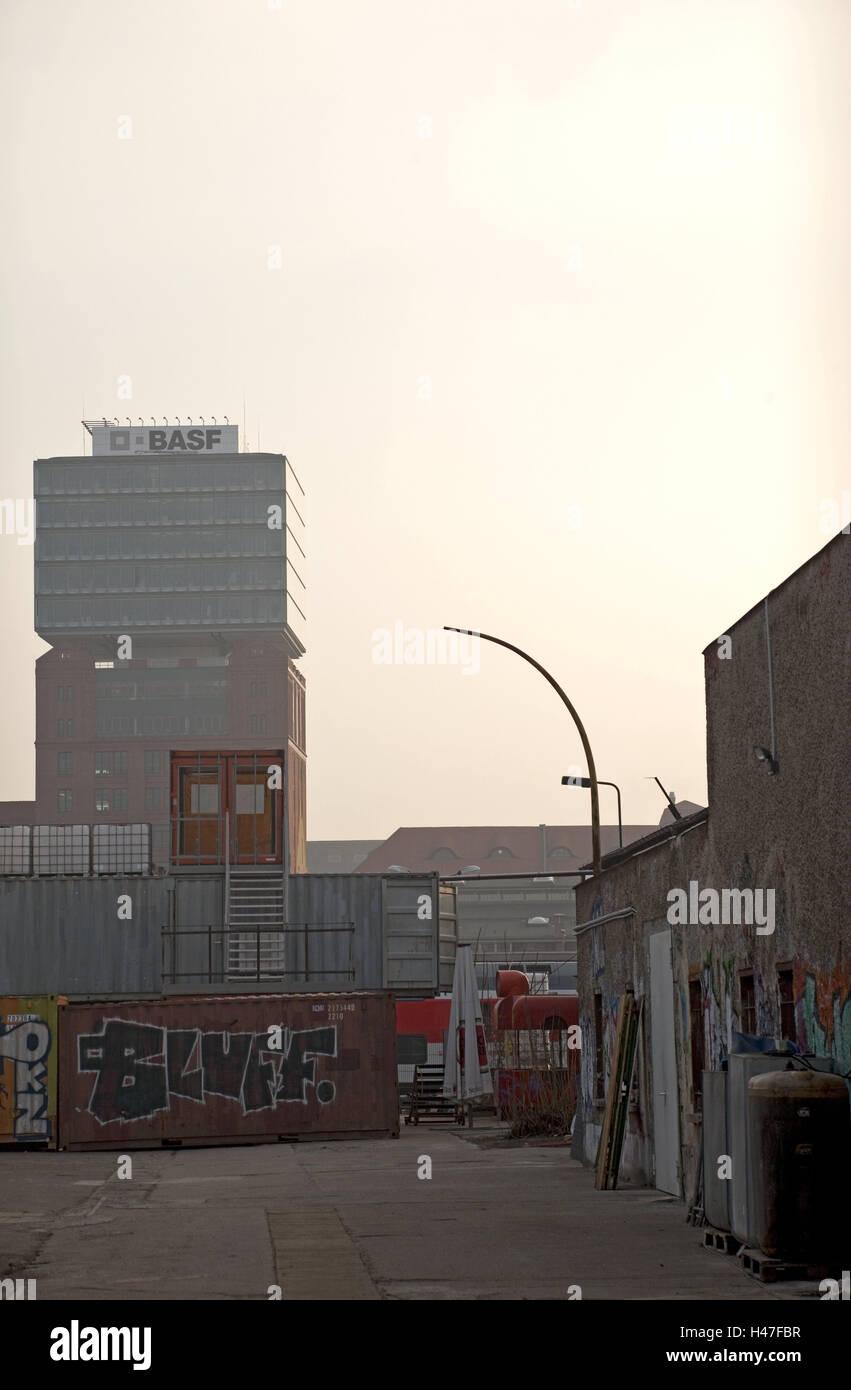 Hochhaus Unternehmen Bau Architektur Aussen Haus Niemand Basf
