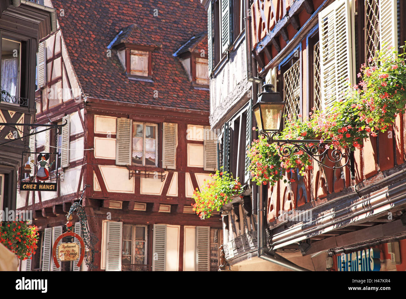 frankreich region elsass colmar old town h user frankreich elsass niemand geb ude. Black Bedroom Furniture Sets. Home Design Ideas