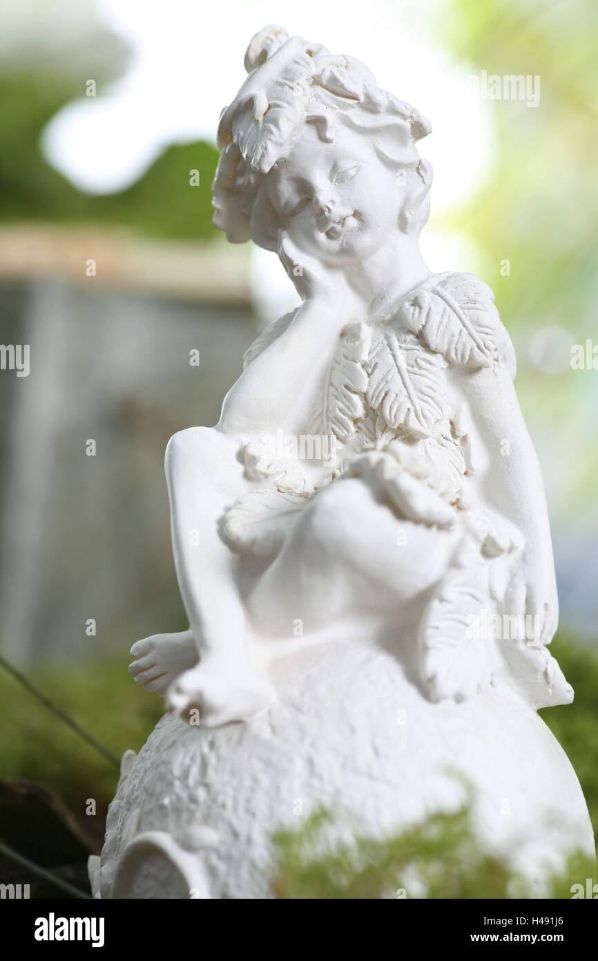 Garten Sie Figur Figur Garten Elfe Stockfoto Bild 123130062 Alamy