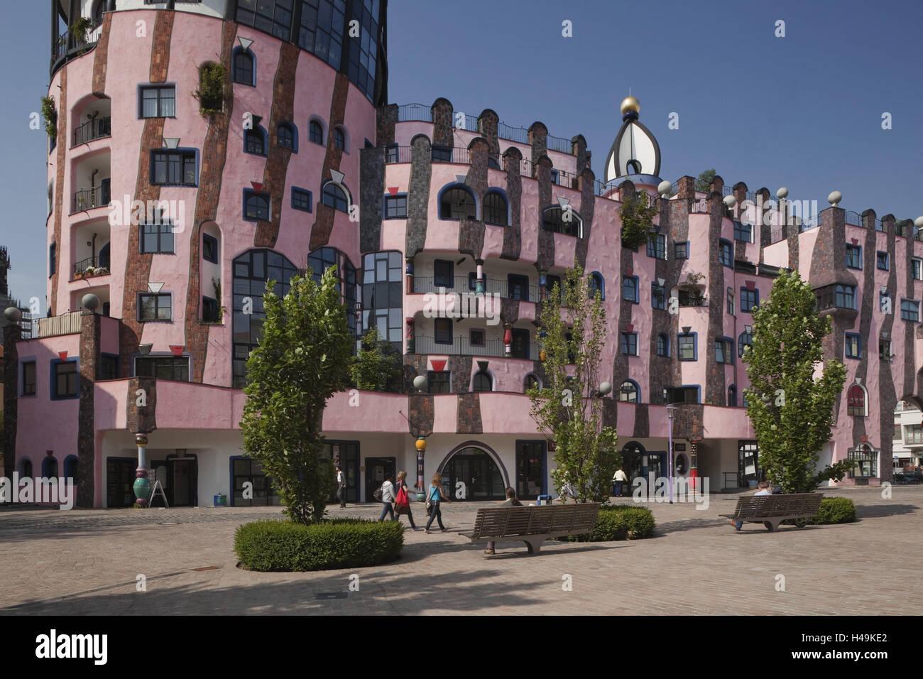 Architektur Magdeburg deutschland sachsen anhalt magdeburg 100 wasserhaus stadt