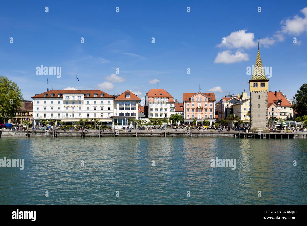 Lindau Bodensee Strandpromenade Stockfoto Bild 123144969 Alamy