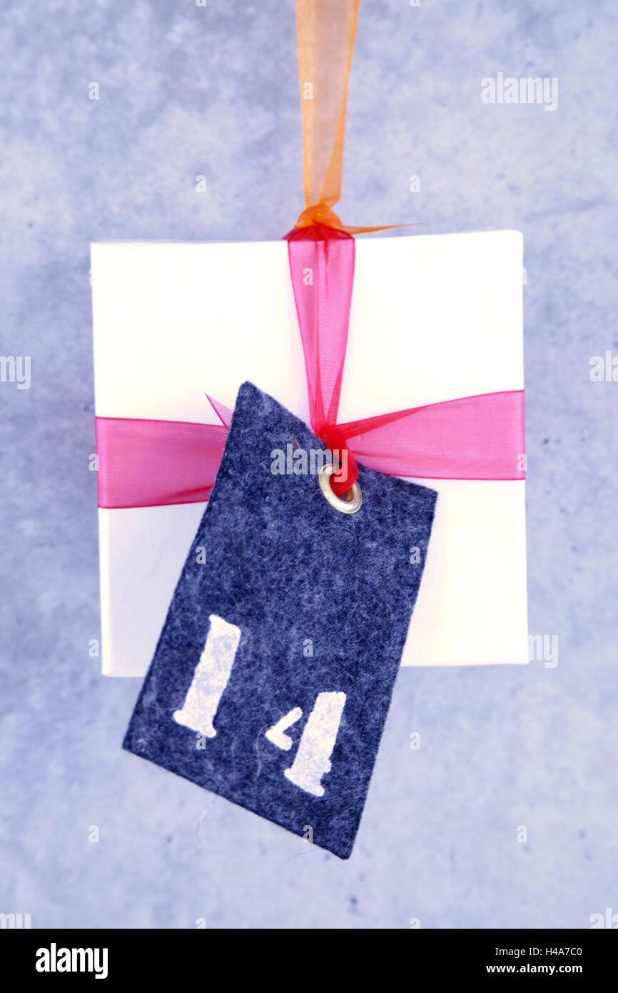 Adventskalender, verpacken, 14, Weihnachten, Advent, Überraschung ...