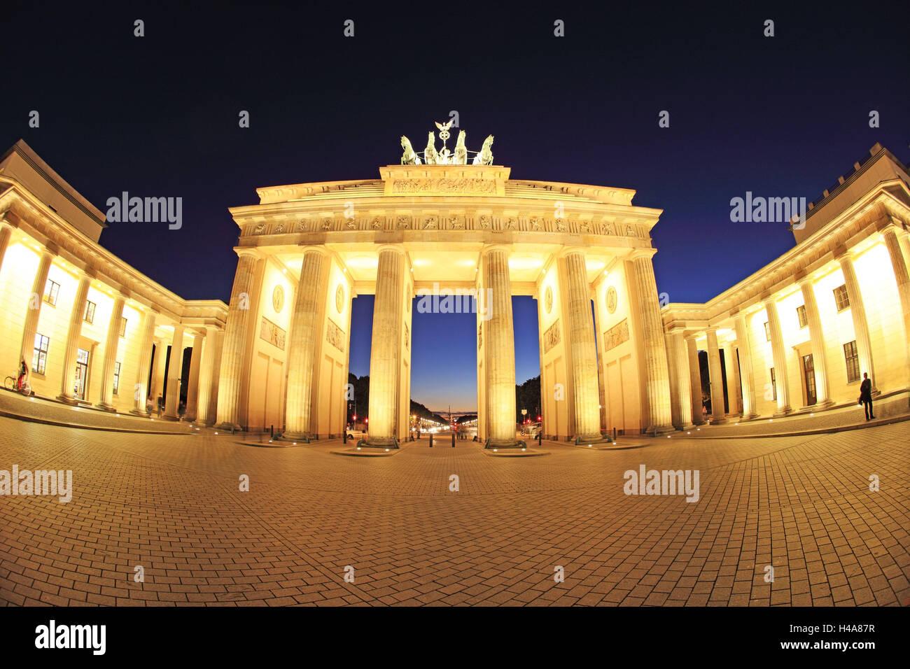 Deutschland, Berlin, Brandenburger Tor, Pariser Platz (Paris Platz), Stockfoto