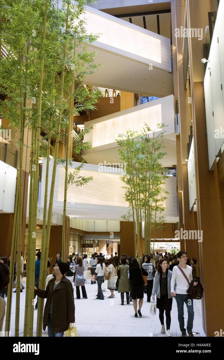 Japan Tokio Roppongi Tokyo Midtown Teil Eingang Rathaus Etagen