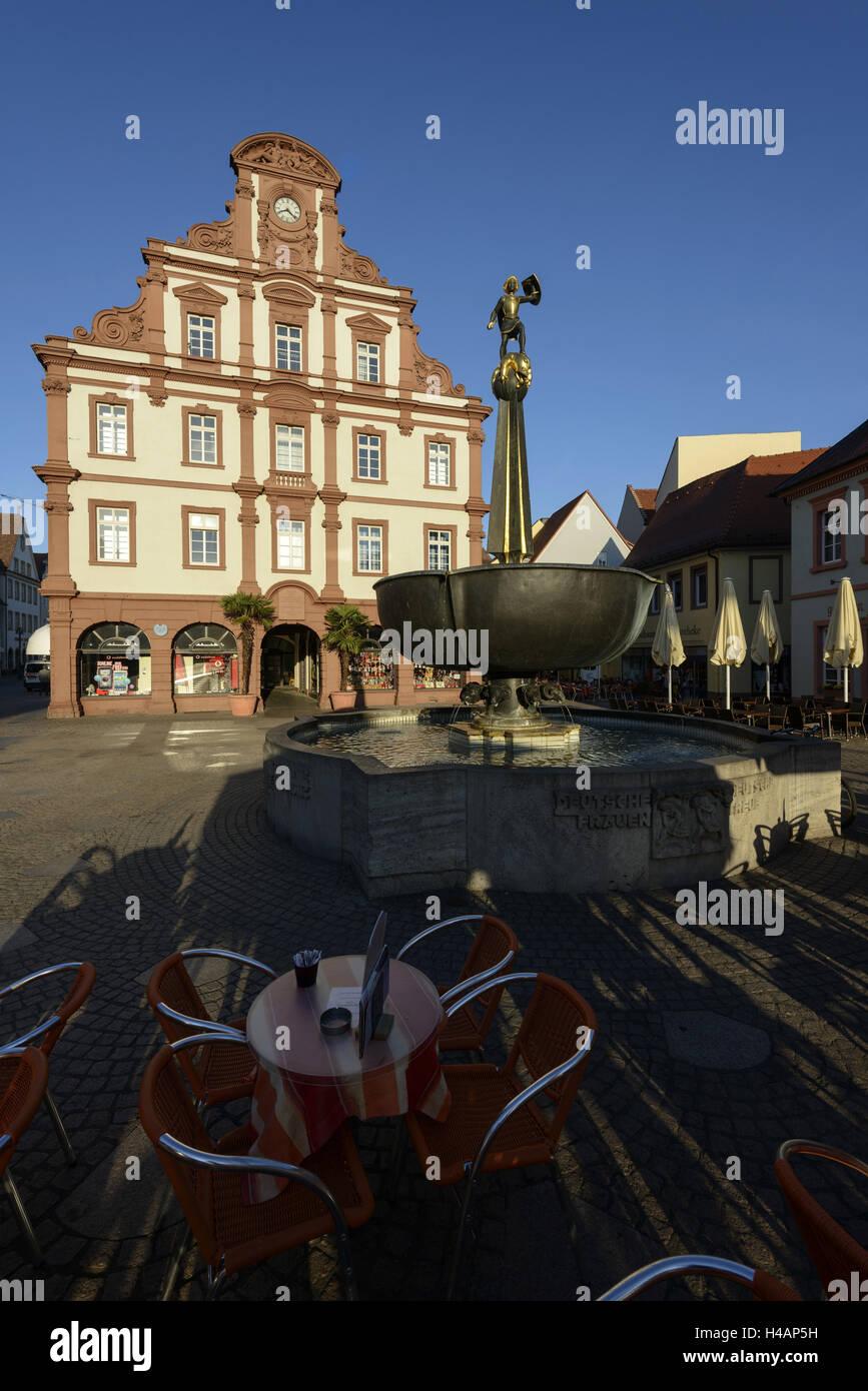 Speyer Stadtzentrum Altstadt Maximilianstraße Kaufhaus Alte