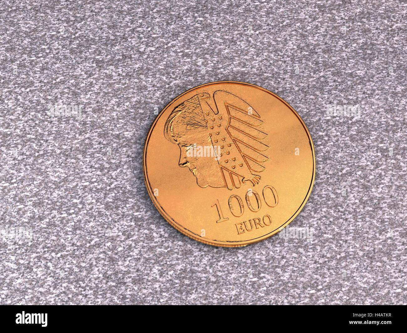 Ein Euro Der Münze Stockfotos Ein Euro Der Münze Bilder Alamy
