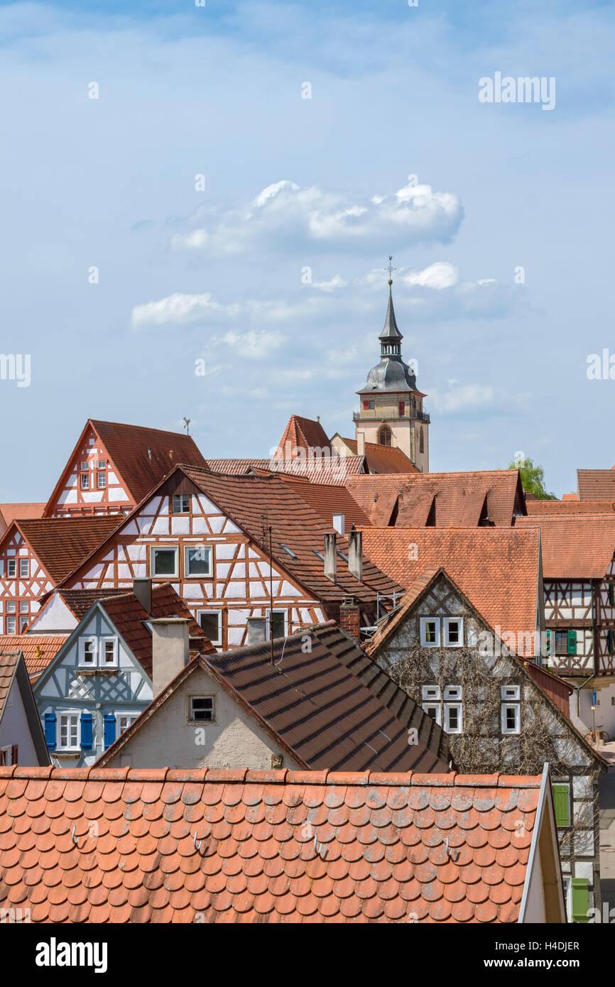 Deutschland Baden Württemberg Bietigheim Bissingen