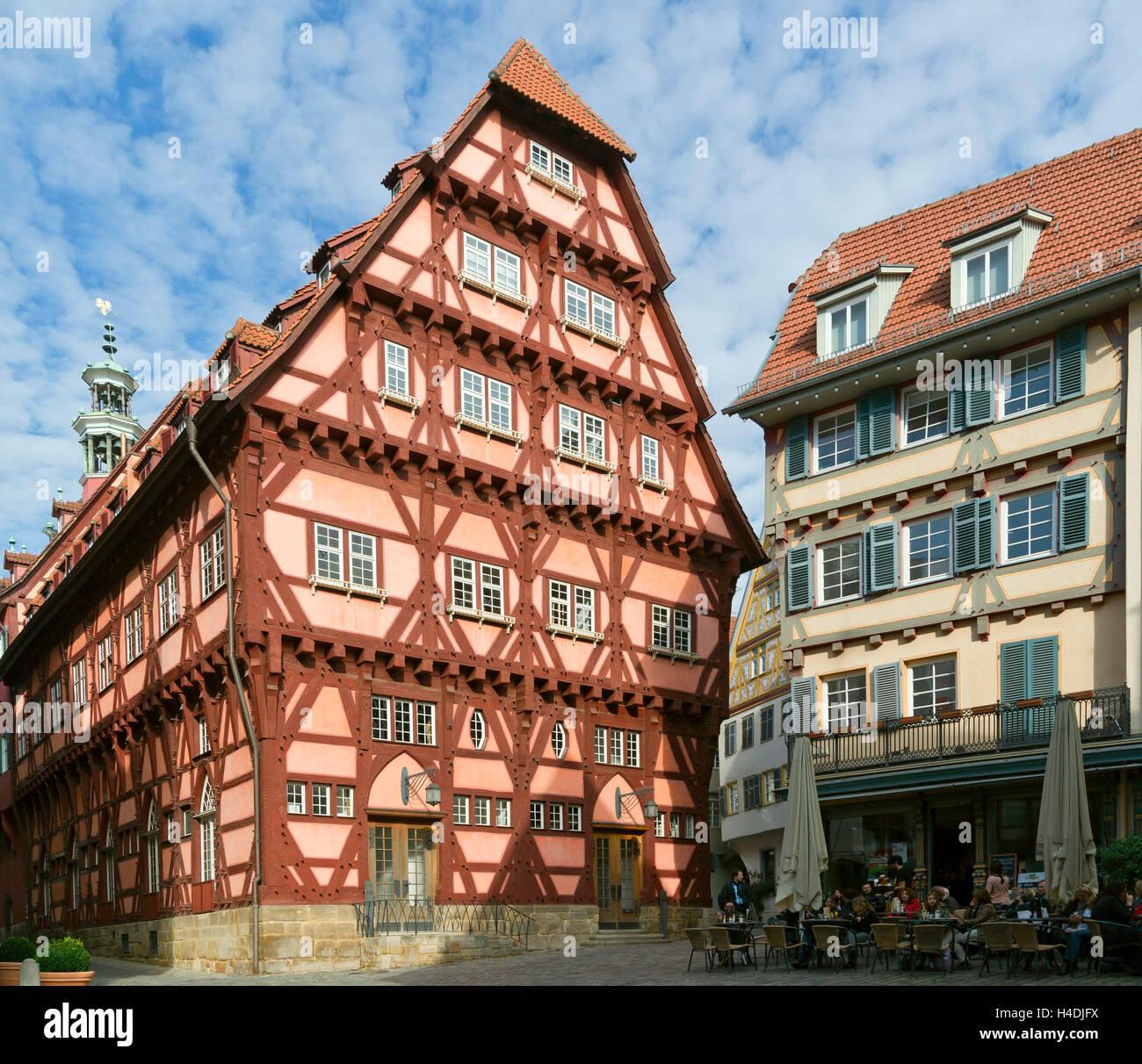 Deutschland baden wurttemberg esslingen am neckar altes for Was ist ein fachwerk