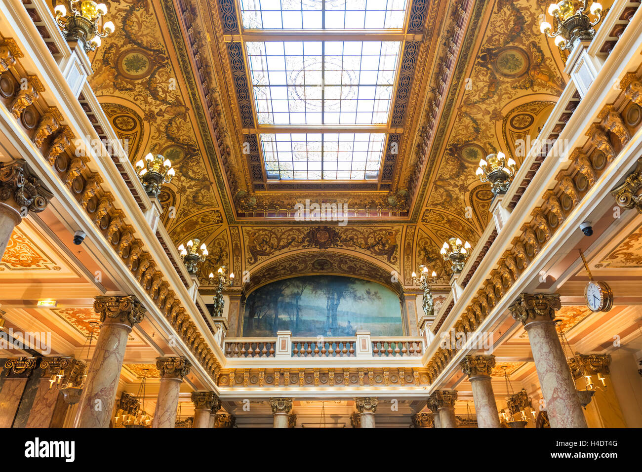 Casino-Interieur, Monte Carlo, Monaco Stockfoto, Bild: 123235520 - Alamy
