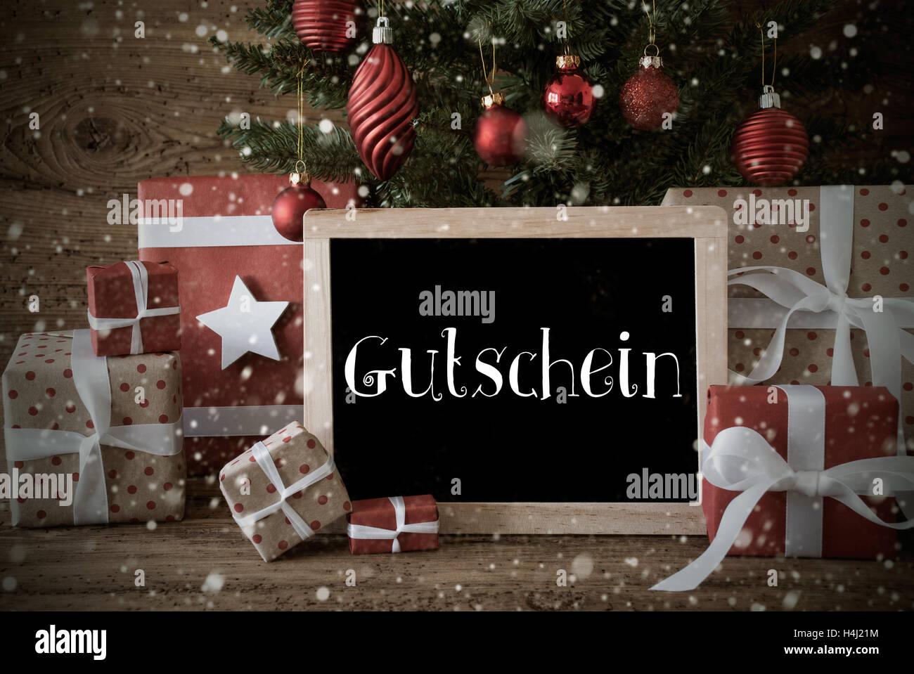 Gutschein Weihnachtsbaum.Gutschein Gutschein Stockfotos Gutschein Gutschein Bilder Alamy