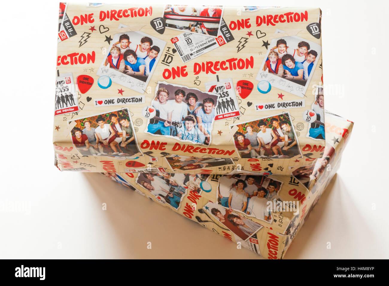 Weihnachten Schuhkartons in eine Richtung Geschenkpapier für ...