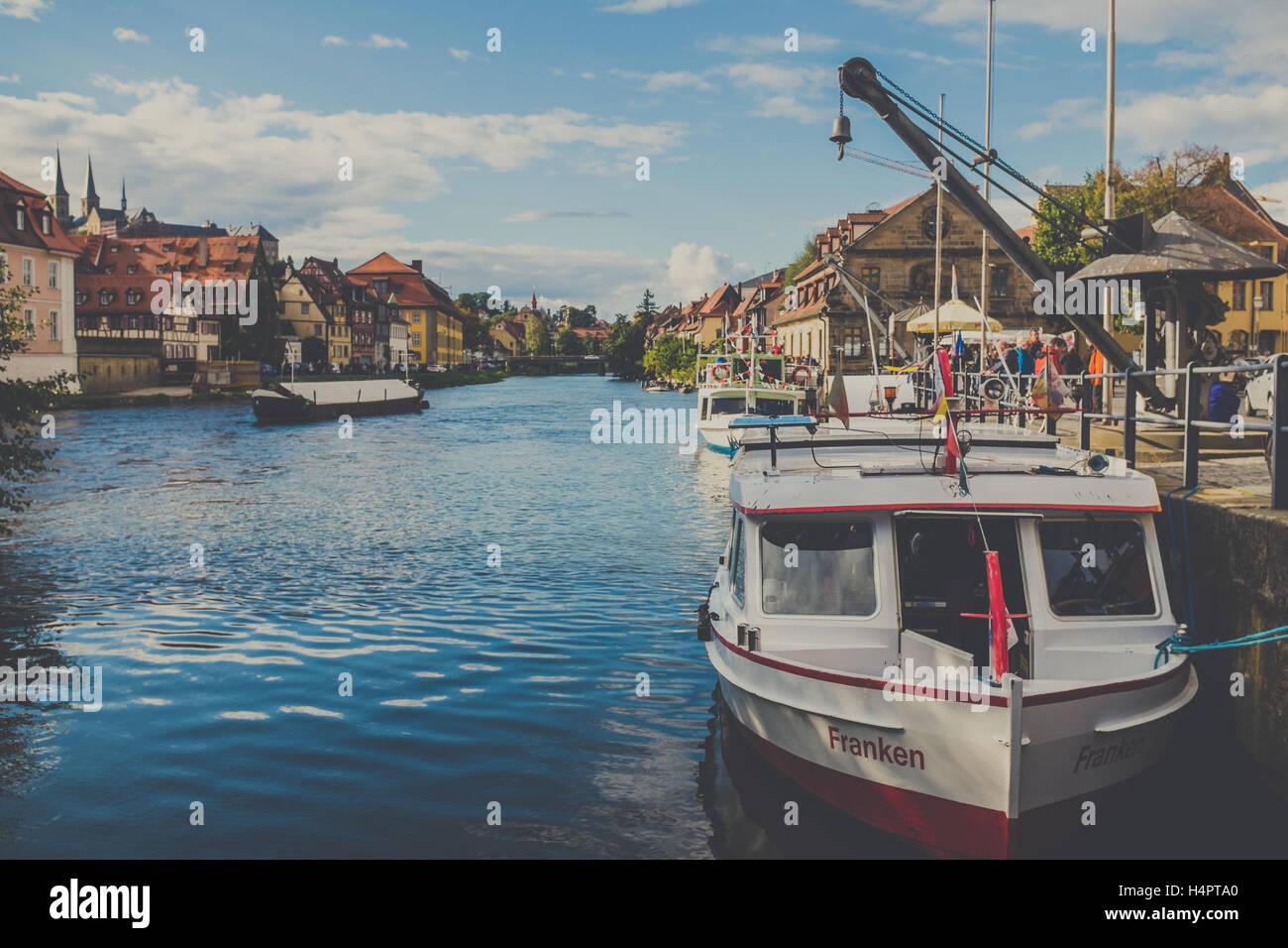 Bamberg-Klein Venedig Stockbild