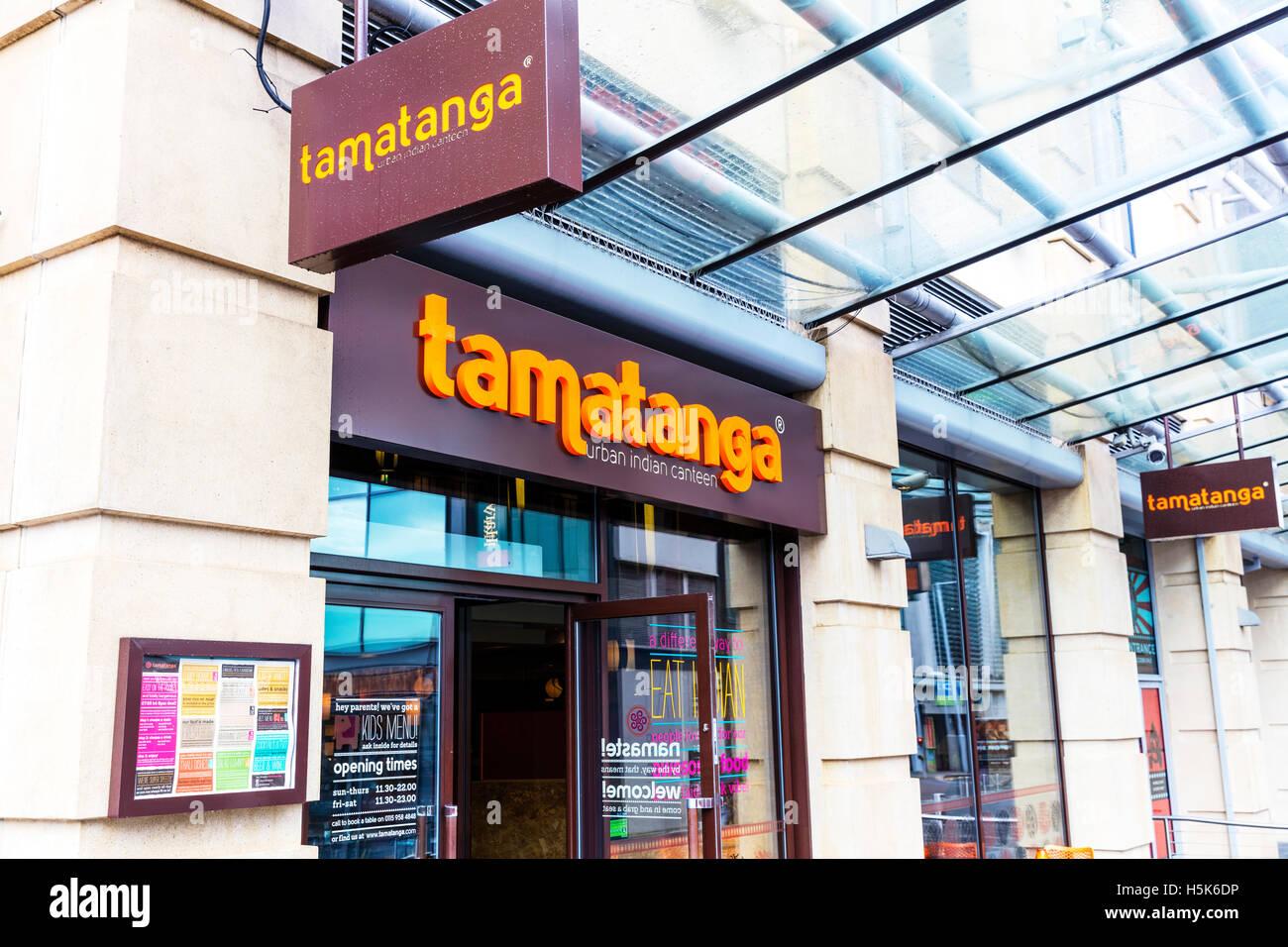 Tamatanga indisches Restaurant Küche Restaurants Gebäude außen ...