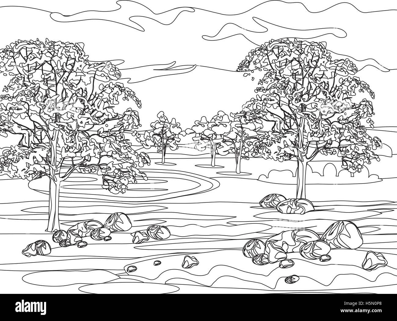 Stylized Landscape Stockfotos & Stylized Landscape Bilder - Alamy
