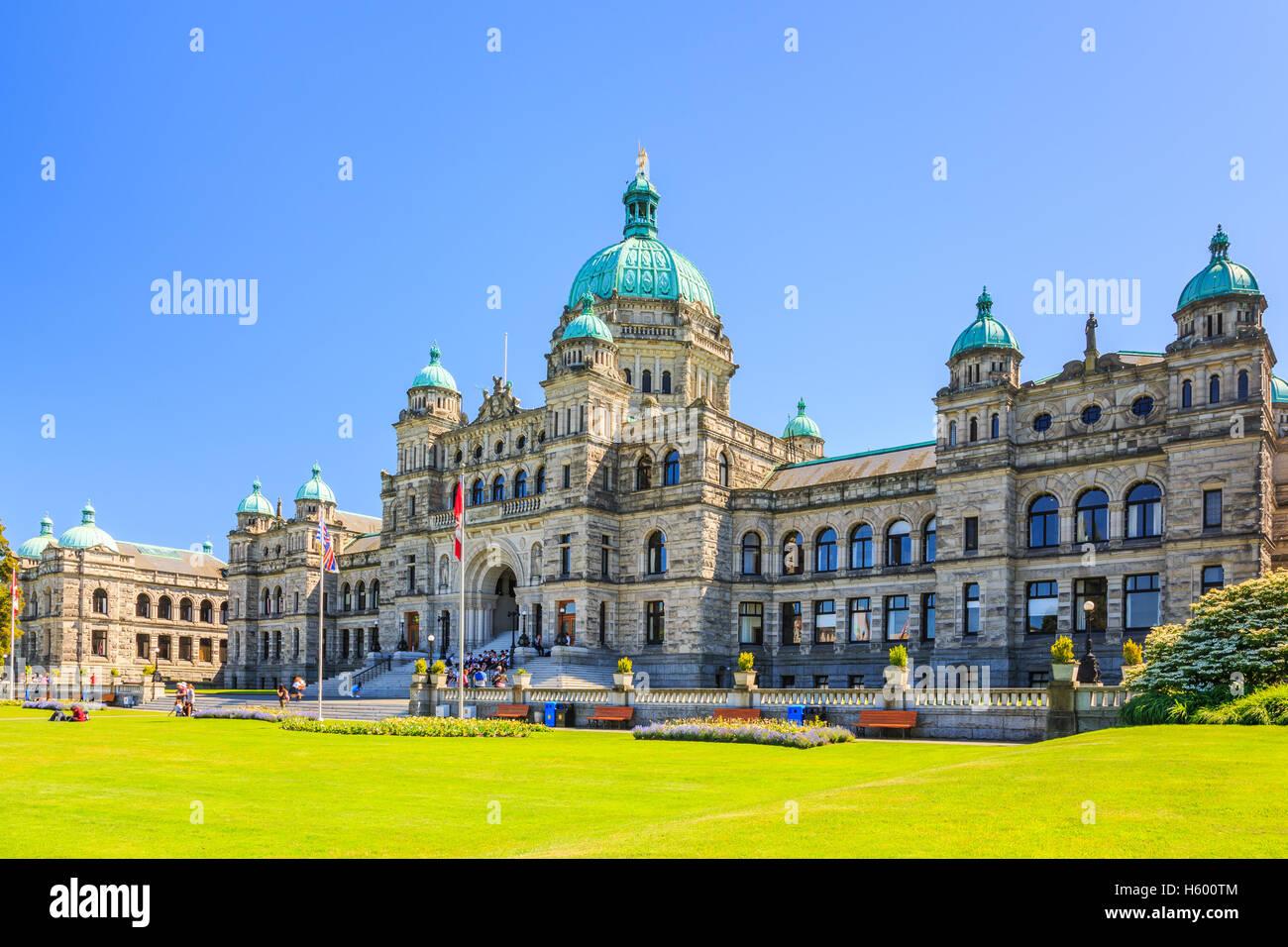 Victoria, Britisch-Kolumbien. Stockbild