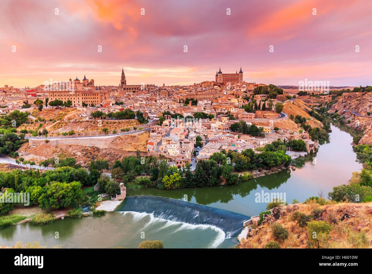 Toledo, Spanien. Stockbild
