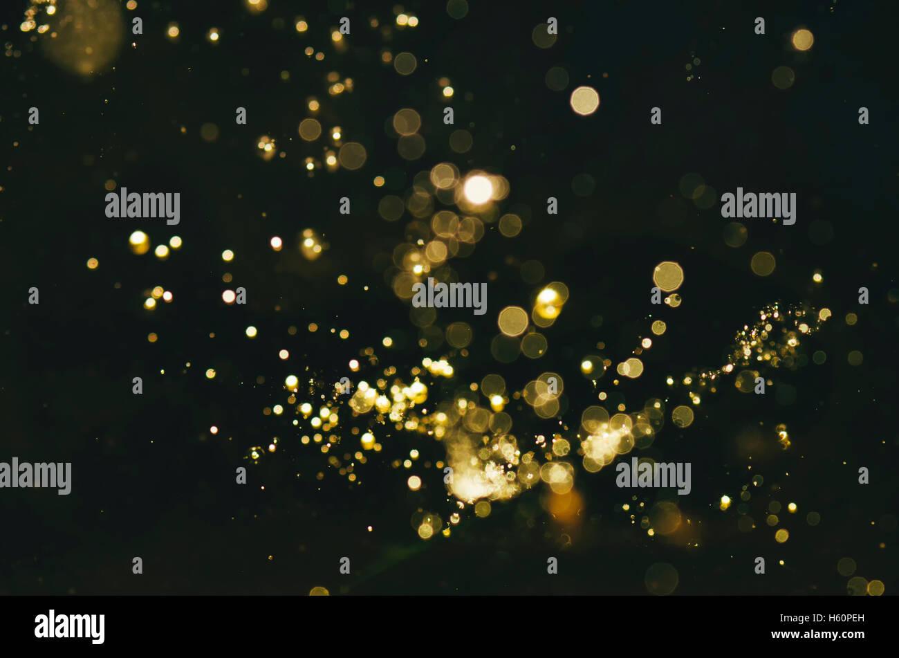 abstrakte magische Glitter-Hintergrund Stockbild
