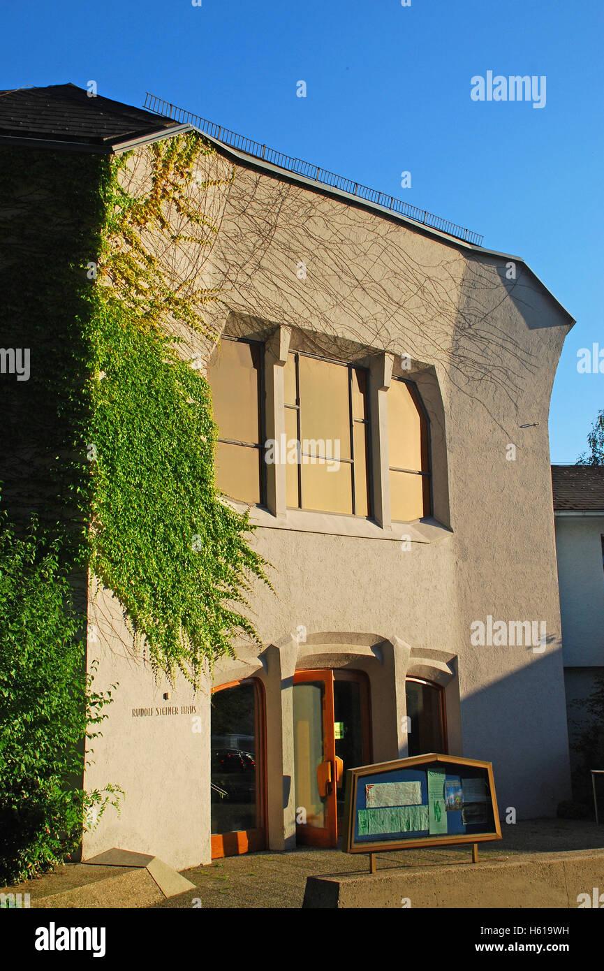 Rudolf Steiner Architektur anthroposophische architektur rudolf steiner haus stuttgart baden