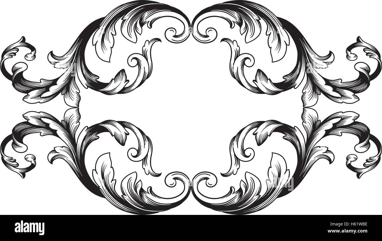 Circle Border Tattoo Designs
