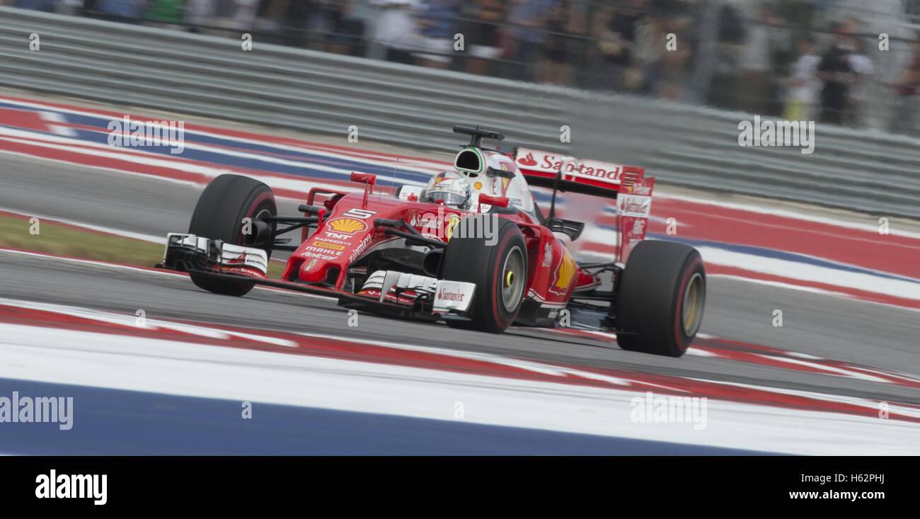 Austin, Texas, USA. 23. Oktober 2016. 2016 biegen Sie Formel1 ...
