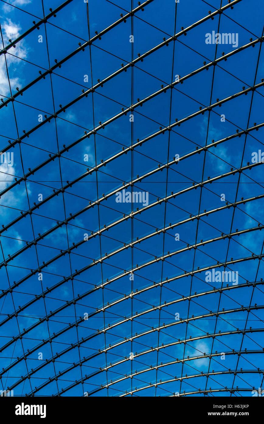 Dachfenster in der Abtei Neumünster in Luxemburg Stockbild