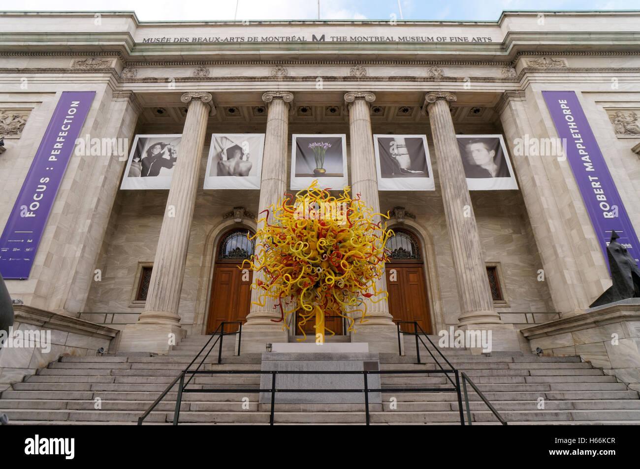 Montreal Museum der bildenden Künste oder Musée des Beaux-arts ...