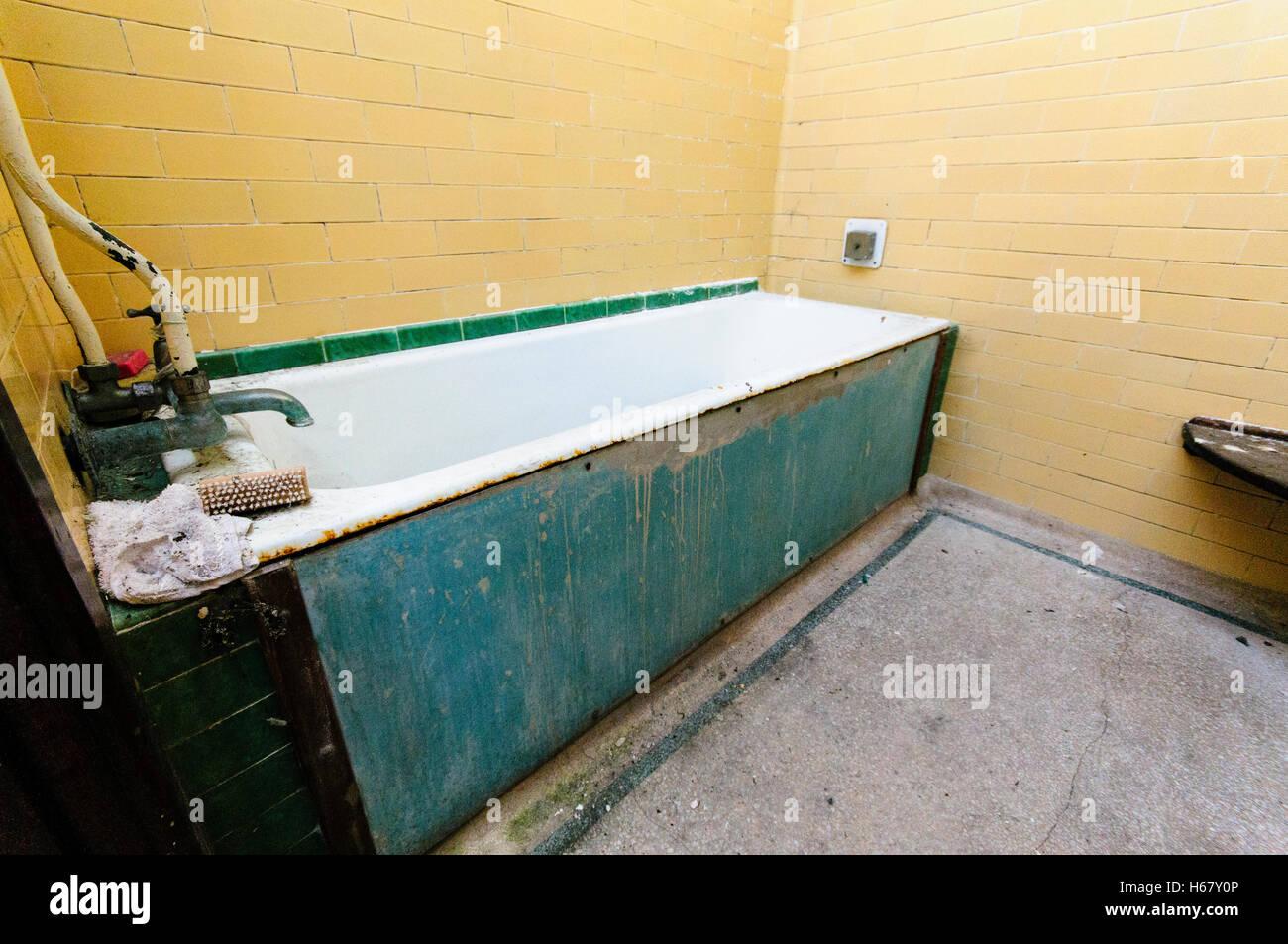 Sehr Altes Bad Aus Viktorianischen Zeiten In Einem Gebaude Von