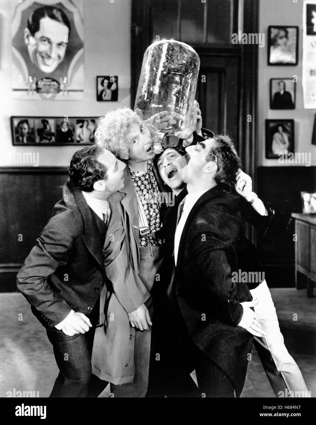Zeppo Marx Harpo Marx Chico Marx Groucho Marx Das Cocoanuts 1929