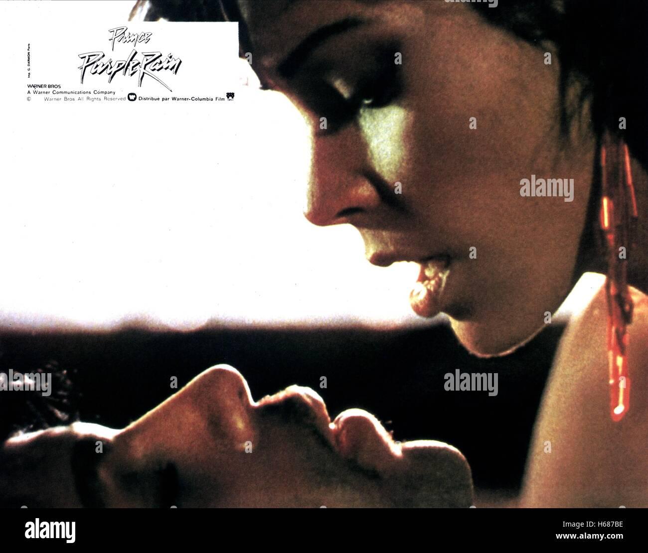 PRINCE, APOLLONIA KOTERO, Purple Rain, 1984 Stockbild