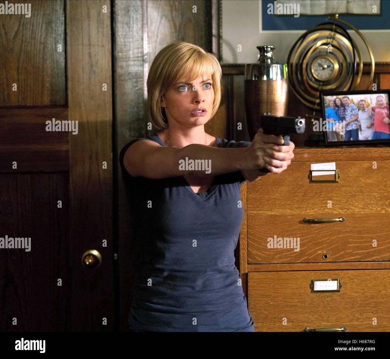 JAIME PRESSLY NEBELWAND (2010) Stockbild