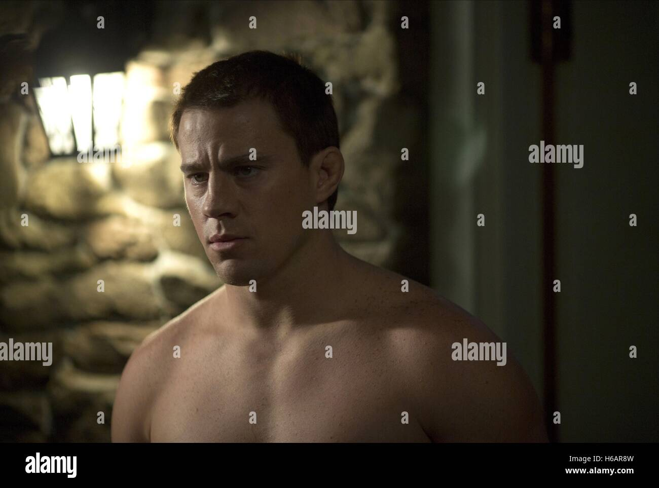 CHANNING TATUM FOXCATCHER (2014) Stockbild