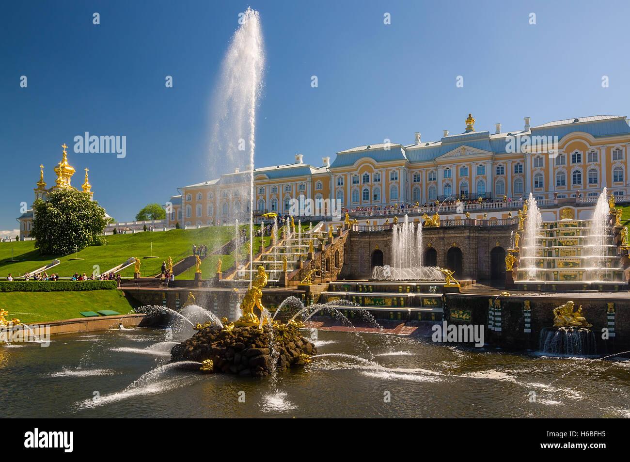 Terren Springbrunnen | Fountain Figure Palace Statue Stockfotos Fountain Figure Palace