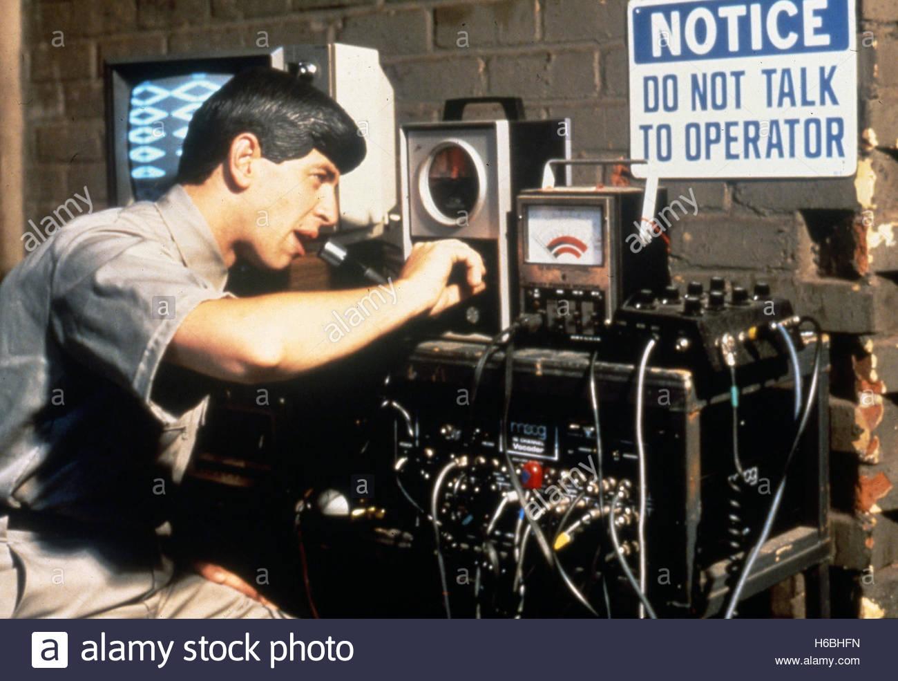DEVO, ca. 1980er Jahre.  Nur zur redaktionellen Verwendung. Stockbild