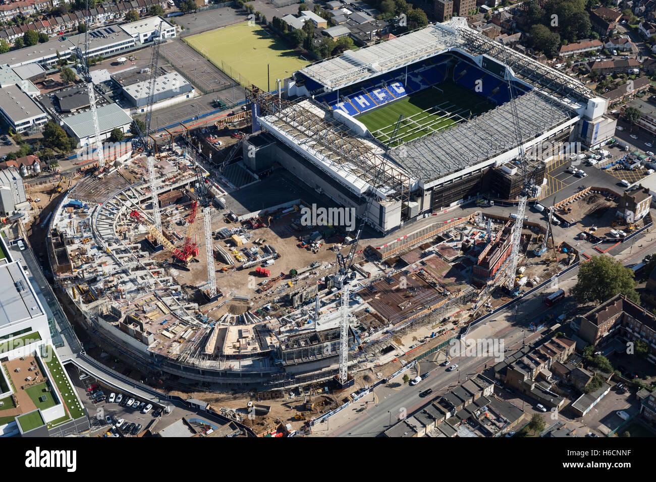Tottenham Stadion Neubau