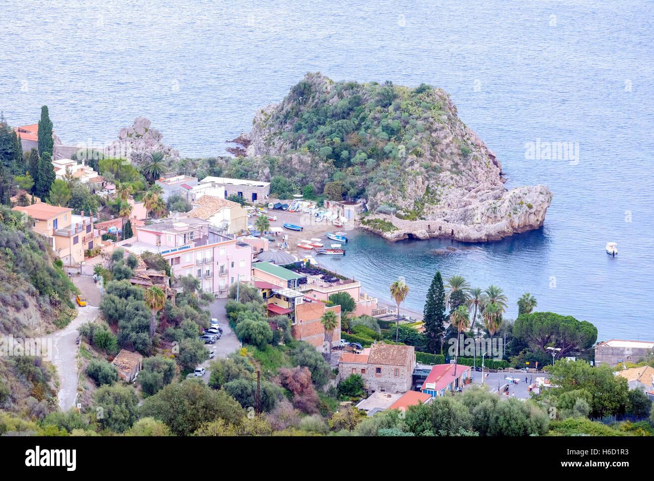 Taormina, Messina, Sizilien, Italien Stockbild